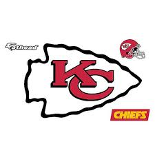 Fathead Nfl Kansas City Chiefs Logo Large Wall Decal Bed Bath Beyond