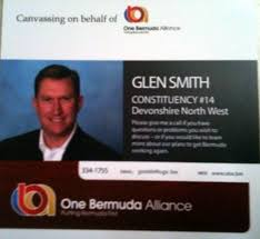 OBA: Glen Smith Selected As Candidate - Bernews