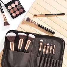 sixplus 11pcs royal golden makeup brush