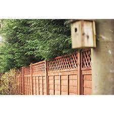 Forest Garden Fence Top Trellis Diamond Lattice 1 83m X 300mm Wickes Co Uk