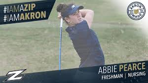 Akron Zips - Freshman Abbie Pearce is a nursing major from... | Facebook