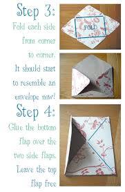diy homemade envelopes from s