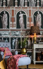 statues antique wallpaper by mind the gap