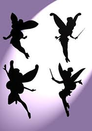 Fairies Stencil Kids A4 Size Wall Childr Buy Online In Cayman Islands At Desertcart