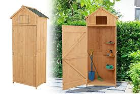 wooden spire roof garden shed