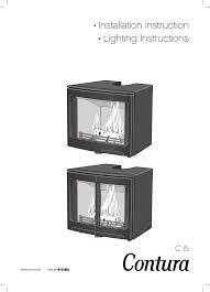 instruction fireplace insert contura i5
