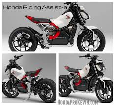 2019 electric motorcycles from honda