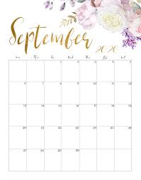 September 2020 Calendar Printable ...
