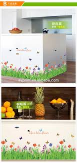Sk9057 Plant Skirting Board Decorative Wall Decal Butterfly Grass Baseboard Wall Sticker View Baseboard Wall Sticker Sk Product Details From Zhejiang Shenao Technology Co Ltd On Alibaba Com