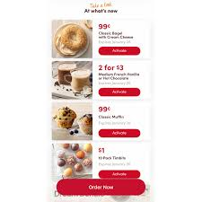 tim hortons mobile app now offers new