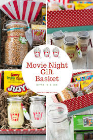 night gift basket gifts in a