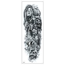 Tatuaz Zmywalny Rekaw Tqb 001 Tatuazezmywalne Pl