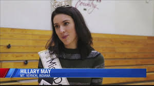Miss Delaware, Hillary May, visits Mt. Vernon Jr. High and shares an  important message with the kids - YouTube