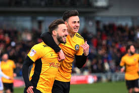 Aaron Collins stars as Newport County and Luton Town share the points |  South Wales Argus
