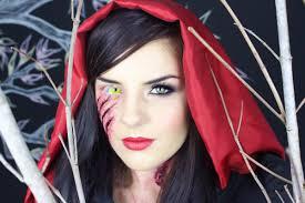 red riding hood zombie makeup tutorial