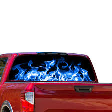 Perforated Decal Nissan Titan Decal 2012 Present