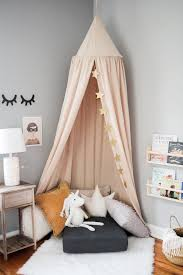 How To Hang A Canopy From The Ceiling Without Drilling Holes Hunker Kids Canopy Reading Nook Kids Canopy Bedroom