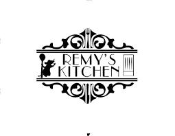 Disney Ratatouille Remy S Kitchen Vinyl Decal Sticker For Etsy