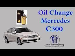diy oil change 2016 mercedes benz c300