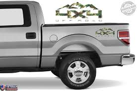 4x4 Off Road Mountain Bedside Forest Decal Fit Ford 2008 2017 F150 250 Roe Graphics And Apparel