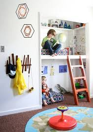 Love The Idea Of Using The Closet As A Bed Wouldn T Work For My Kids Rooms Awkward Closet Placement But A Gre Creative Kids Rooms Cool Kids Rooms Kid Spaces