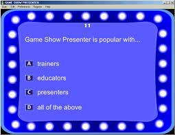 gameshow presenter tour