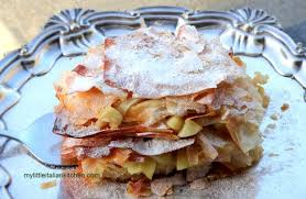 apple pie with filo pastry my little
