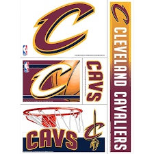 Cleveland Cavaliers Decals 5ct Party City