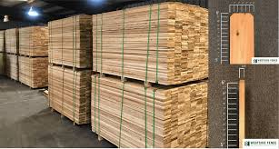 Cedar Fence Boards In Stock 6 Ft High 3 4 Thick Westside Fence Co