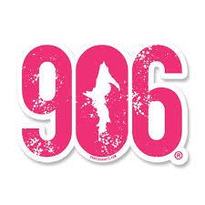Sticker 906 Window Decal 7 Yooper Shirts Inc