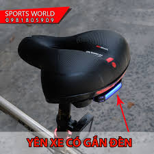 Yên xe đạp có gắn đèn LED - yên siêu mềm giảm chỉ còn 189,000 đ
