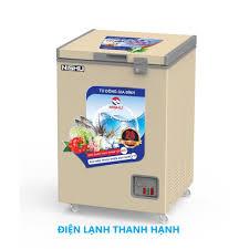 Tủ đông Mini dàn đồng 100% NTD- 188S-New - Tủ đông Sanden nhập khẩu - Tủ  mát Sanden intercool