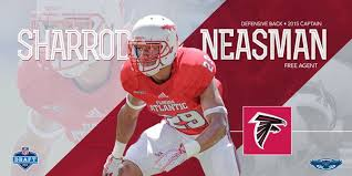 """FAU Football on Twitter: """"Excited for the news that Sharrod Neasman has  signed with the Atlanta Falcons!!… """""""
