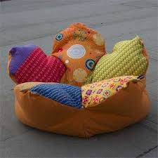 20 Gorgeous Poufs For Creative And Colorful Kids Room Design And Decorating