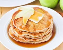 delicious apple pancakes filled with
