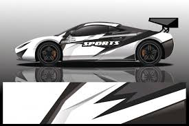 Premium Vector Sport Car Decal Wrap Design Vector