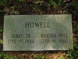 James A Howell, Sr (1785 - 1844) - Genealogy