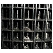 Welded Wire Yard Guard Fence Black Vinyl Coated 1 X 1 5 High X 50 16ga Wayside Fence Company