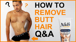 how to remove hair q a men s