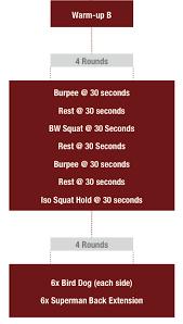 free 6 week bodyweight plan
