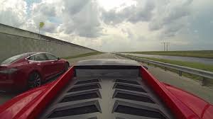 Tesla Model S vs Lamborghini Gallardo ...