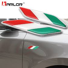 Auto Parts Accessories Aluminum 3d Metal Italy Italian Flag Sticker Emblem Badge Decal Car Decorate Br Smaitarafah Sch Id