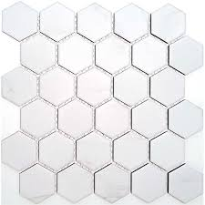 Find Coulson 312 X 326 White Carrara Hexagon Mosaic Tile Sheet At Bunnings Warehouse Visit Your Local Mosaic Tile Sheets Hexagon Mosaic Tile Hexagonal Mosaic