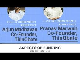 Negotiating with AIs & VCs - Pranav Marwah & Arjun Madhavan, Founding  Partners, ThinQbate - YouTube