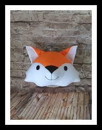 Fox Faux Taxidermy Head Kids Room Decor Nursery Decor Custom Made Helen S Handmade Corner On Madeit