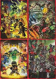 LEGO Ninjago 2 (Serie 2) - puzzle Cards Set complete 36 cards ...