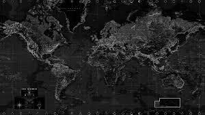 Black And White World Map Wall Mural Rand Mcnally Store