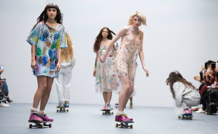 Image result for ashish london fashion week""