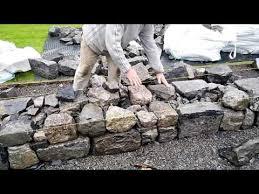 wall building advice from stonemason
