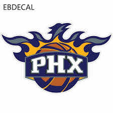 Phoenix Suns Logo Auto Car Bumper Window Wall Suitcase Decal Sticker Decals Diy Decor Ct16093 Car Stickers Aliexpress
